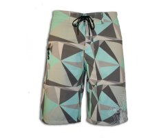 Starboard Mens Bolt Boardies Grey