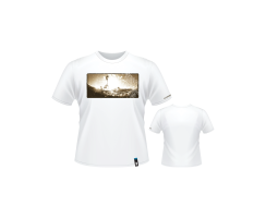 Starboard Mens Sepia Image Tee White