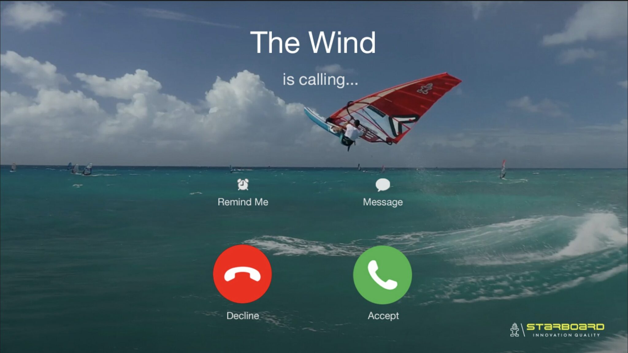 """""""The Wind is Calling"""" - Starboard Windsurfing"""