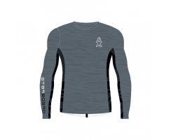Starboard Mens Long Sleeve Lycra grey