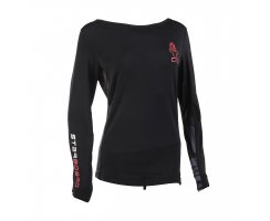Starboard Womens Long Sleeve Lycra black
