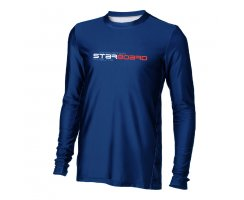 Starboard Mens long Sleeve Lycra Team blue