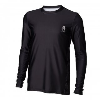 Starboard Mens long Sleeve Lycra black