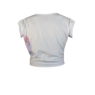 Ladies Starburst Crop Tee
