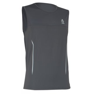 Starboard Mens Elite Sleeveless Water-Shirt - Charcoal