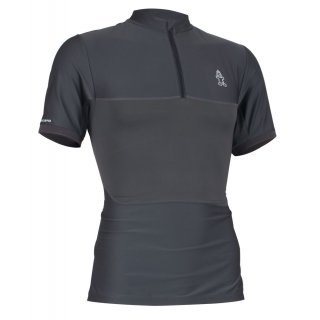 Starboard Mens Elite Short Sleeve Water-Shirt - Charcoal