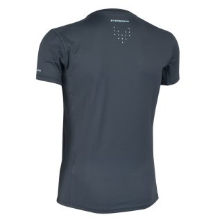 Starboard Men?s Short Sleeve Lycra - charcoal