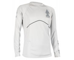 Starboard Mens Long Sleeve Water-Shirt - grau XL